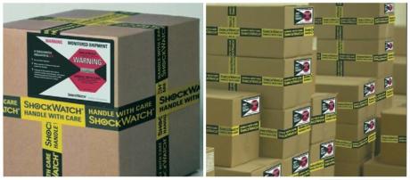 Shockwatch® Label / ШокВотч Лэйбл  (L30,35,47,55,65) индикатор удара