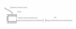 Тросовая пломба Малтилок диаметр 2.5 мм, длина 500 мм с двойным замковым механизмом