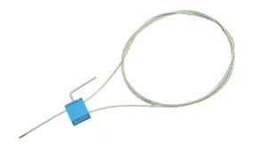 Тросовая пломба Малтилок диаметр 2.5 мм, длина 1500 мм с двойным замковым механизмом