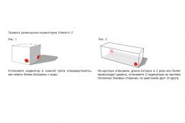 Shockwatch® 2 / ШокВотч2 (15G, 25G, 37G, 50G, 75G) индикатор удара