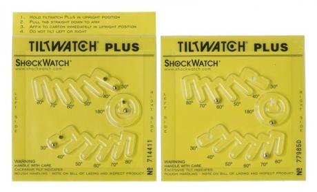 Индикатор наклона груза TiltWatch® Plus - ТилтВотч Плюс