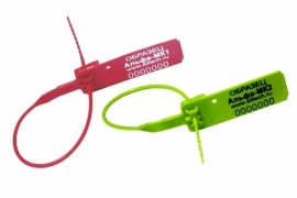 Альфа®-МК1 / Альфа®-МК2 номерная пластиковая пломба