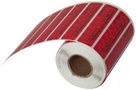 Пломба-наклейка СКР2+ размер 20*60мм, опт от 1000 шт/уп