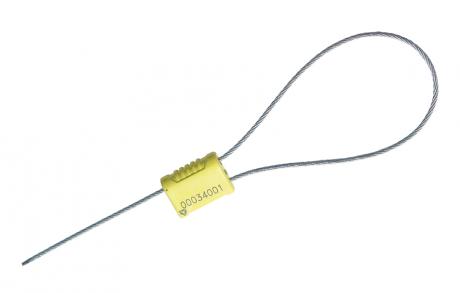 Тросовая пломба Малтилок АБС диаметр 1.8 мм, длина 300 мм